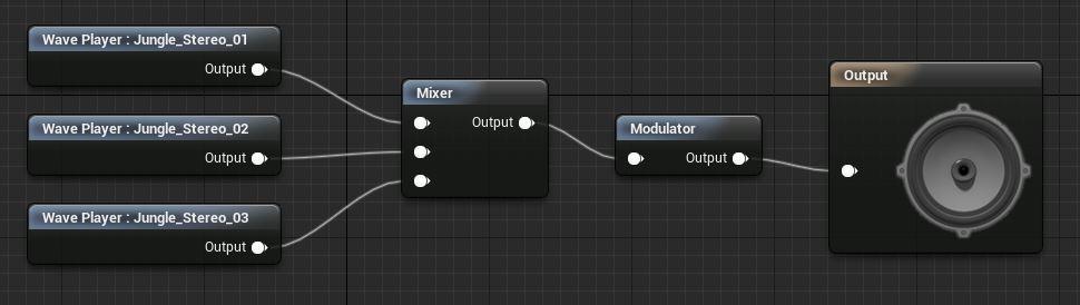 редактирование звуков в Unreal engine 4