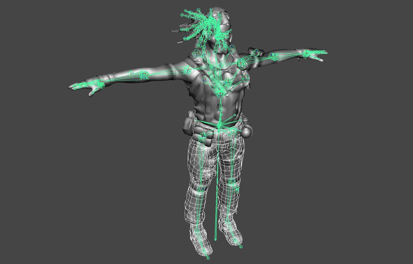 Скелетал меши в unreal engine 4