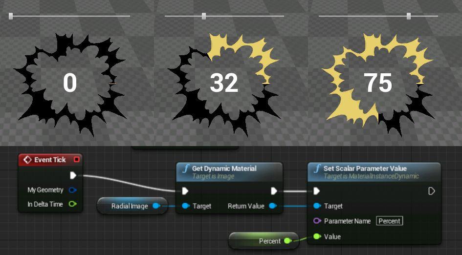 Стиль кнопок UMG в unreal engine 4