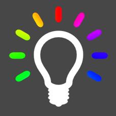 Меняющая цвет лампочка