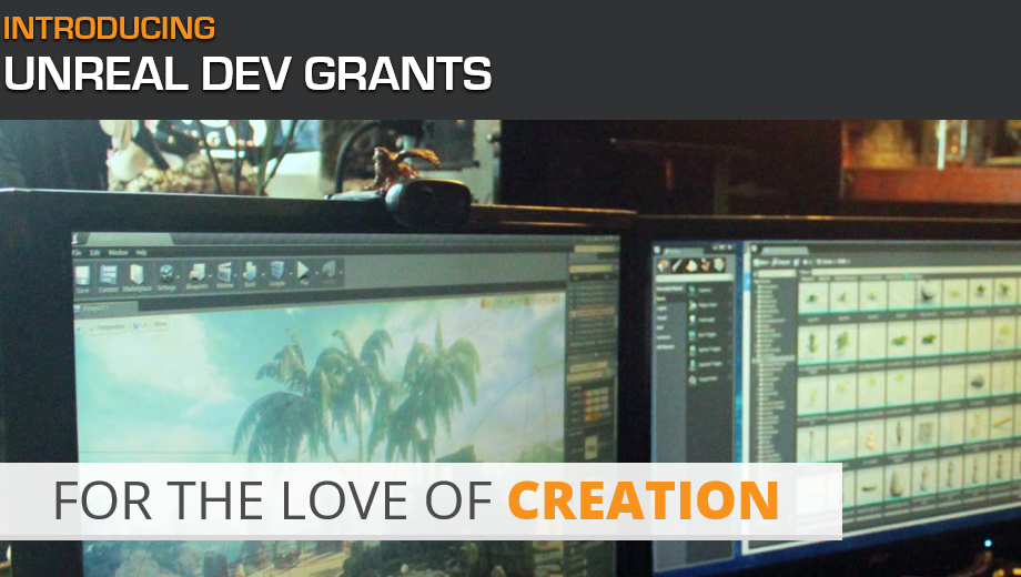 Unreal Dev Grants