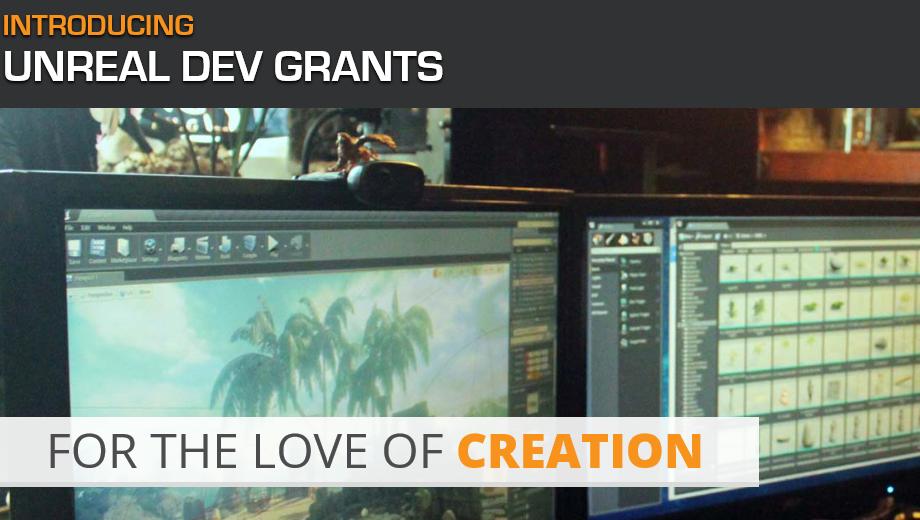 Unreal Dev Grants