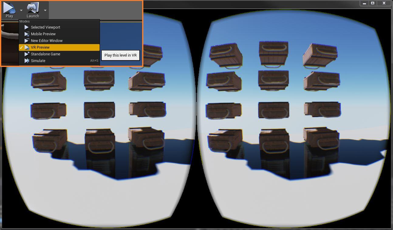 Игра виртуальной реальности